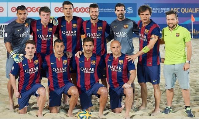 برشلونة يحصد لقب بطولة العالم للأندية لكرة الشواطئ