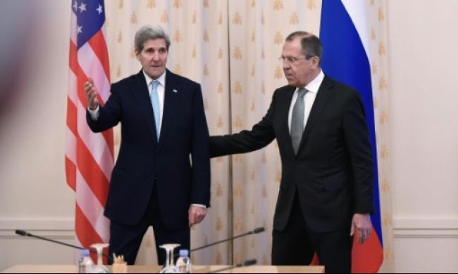 كيري بموسكو سعيا للتوافق مع لافروف وبوتين حول سوريا