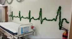 هكذا احتفل الأطباء بعيد الميلاد