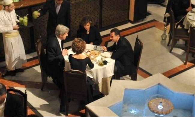 كيري: الأسد عرض خطيًا صفقة شاملة مع إسرائيل