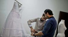 فساتين الأعراس المحاصرة في غزة
