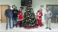 عشيّة الميلاد المجيد: اتحاد الشباب يزور بيت المسنّين في شفاعمرو