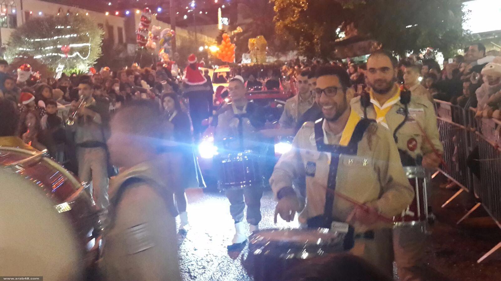 الناصرة: الآلاف في مسيرة الميلاد الـ33