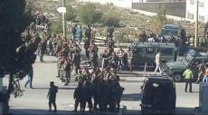 """ الأمن الفلسطيني يمنع شبان من الوصول لحاجز """"بيت إيل"""""""