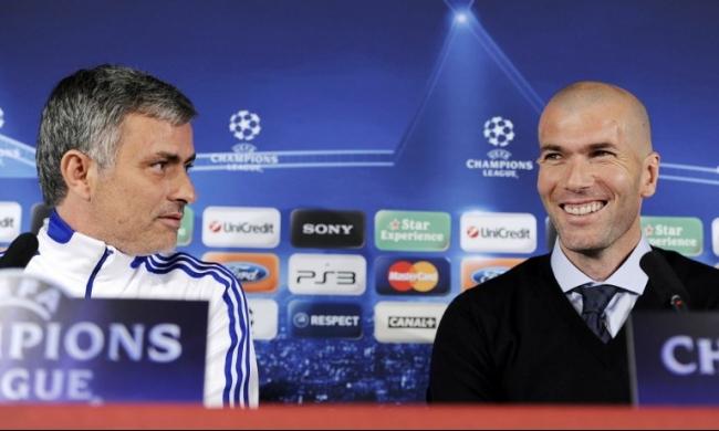 استفتاء: زيدان يتفوق على مورينيو لتدريب ريال مدريد