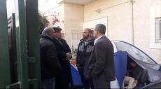 نواب التجمع يزورون مبعدي القدس في مقر الصليب الأحمر