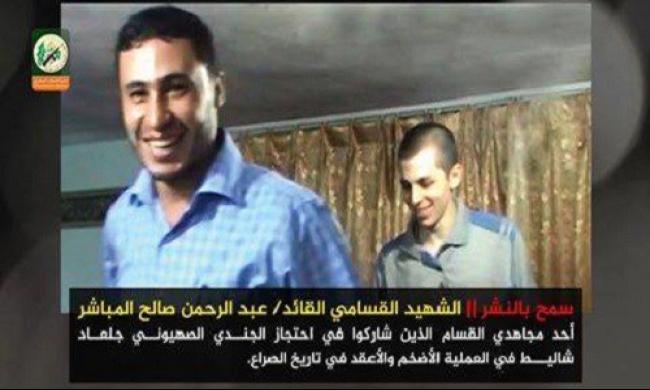 القسام تنشر للمرة الأولى صورة لشاليط أثناء احتجازه