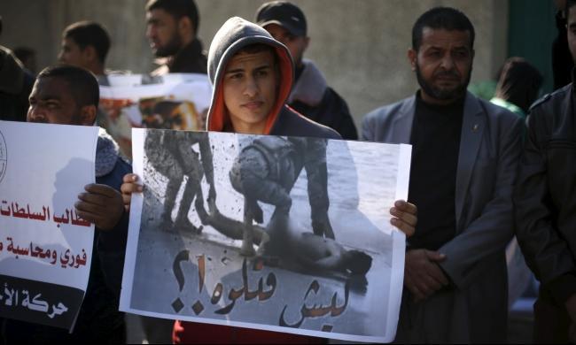 جثمان إسحاق حسان يعود لأرض غزة