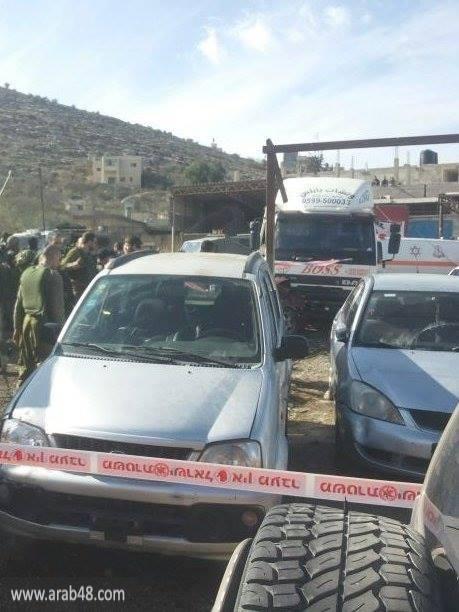 نابلس: استشهاد فلسطيني بنيران الاحتلال بادعاء دهس جندي