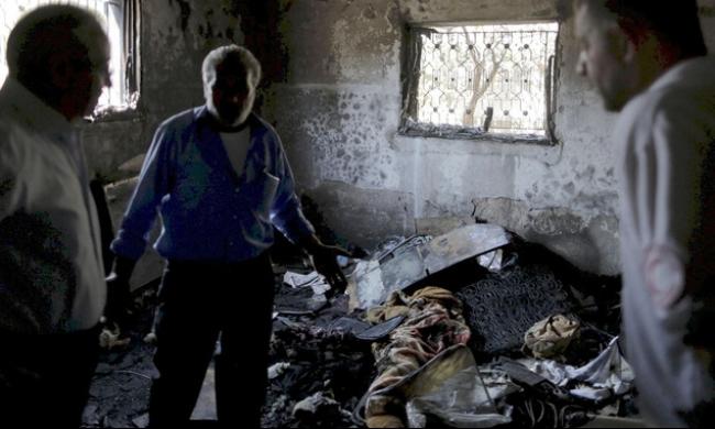 الإفراج عن أحد المتهمين بحرق منزل الدوابشة في دوما