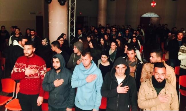 جنين: التجمّع الطلابي يعرض مسرحيّة طه