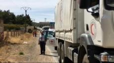 سورية: شاحنات المساعدات تدخل مضايا وكفريا والفوعة