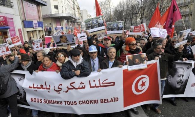 منتصف آذار/مارس: النظر بقضية اغتيال شكري بلعيد