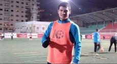 لاعب شباب الخليل تامر صيام ينجو من حادث مروّع