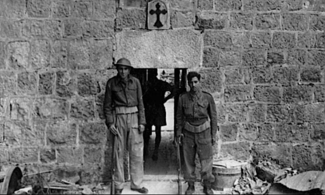 1949: حين دنّس ودمر همج إسرائيل كنائس البلاد