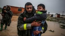 الأمطار بعد الحرب: غزة.. تشريد بعد آخر