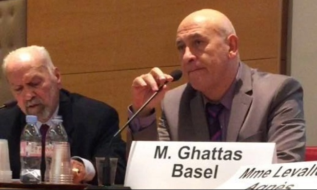 غطاس يحاضر في ندوة لمجلس الشيوخ الفرنسي