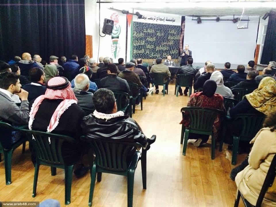 في ندوة بالدهيشة: أمين عام التجمع يدعو للعمل الموحد