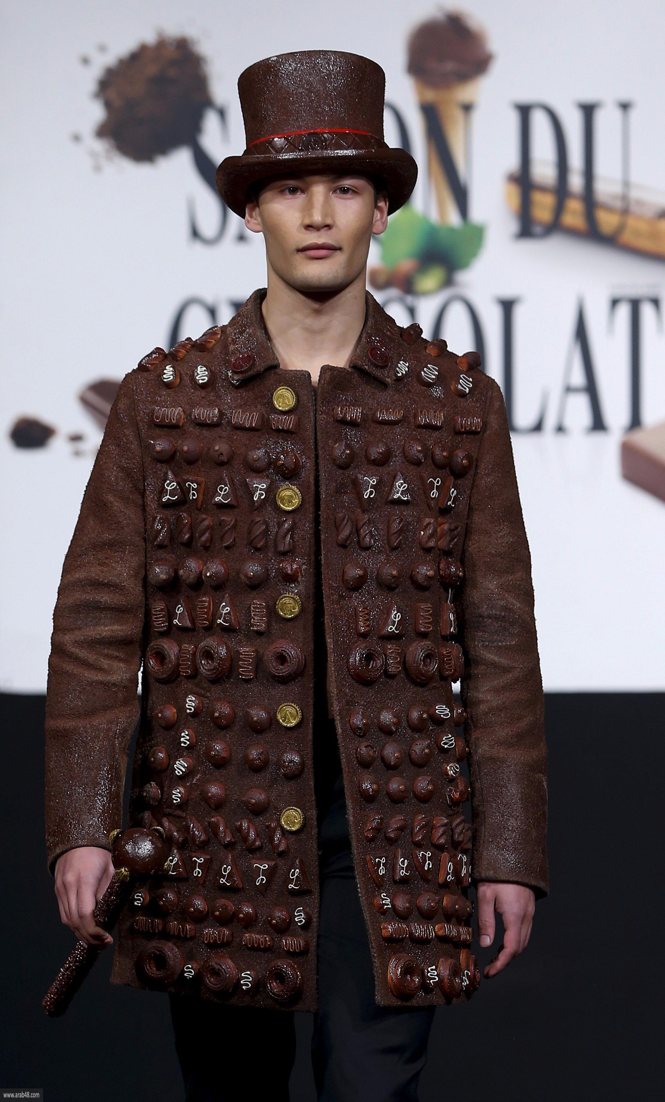 في بروكسل... حتّى الملابس من الشوكولاتة