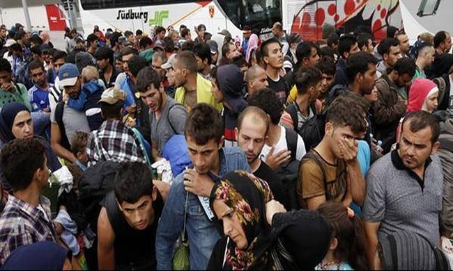 ثلث الألمان يؤيدون منع اللاجئين من اجتياز الحدود بالسلاح