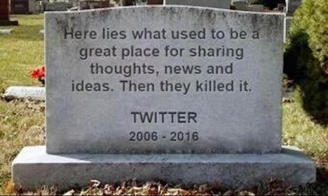 #RIPtwitter: ليس هذا تويتر الذي نعرف