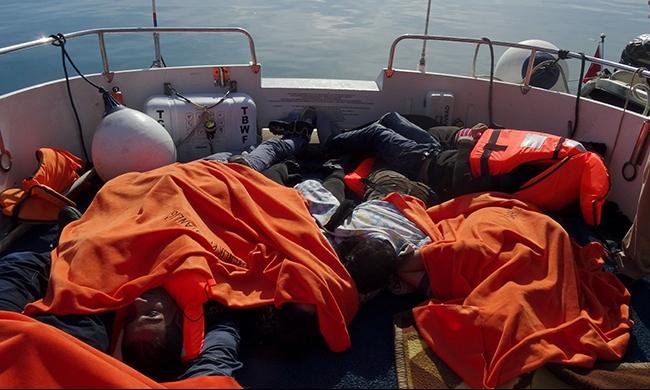 غرق 27 مهاجرا في بحر إيجة
