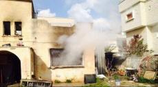 كفر قاسم: ألسنة النيران تلتهم محتويات منزل