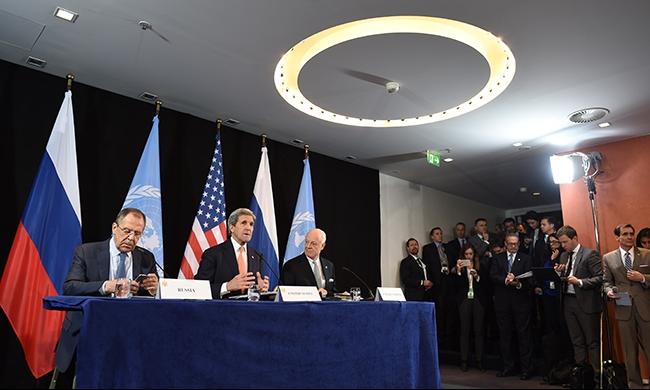 اتفاق روسي أميركي على وقف المعارك في سورية