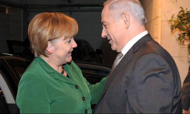 ميركل تدافع عن الاتفاق النووي قبيل المشاورات مع إسرائيل