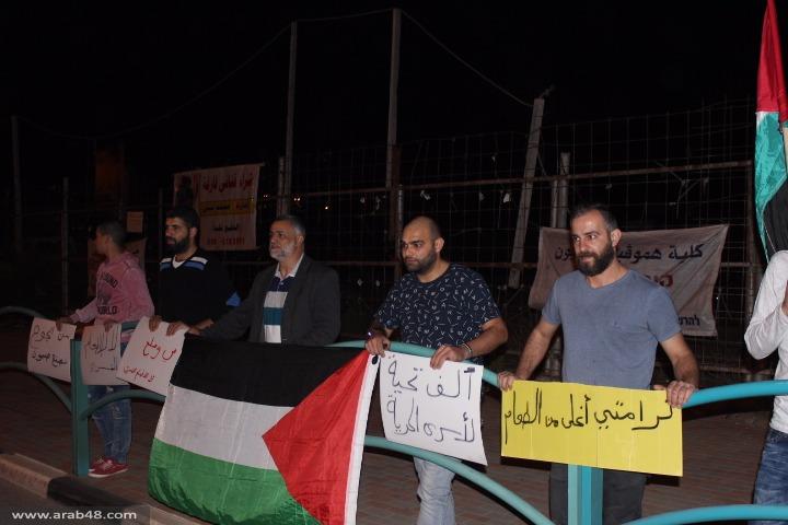 الشاغور: وقفة احتجاجية نصرة للأسير محمد القيق