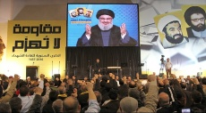 نصر الله: استهداف الغاز في حيفا يعادل قنبلة نووية