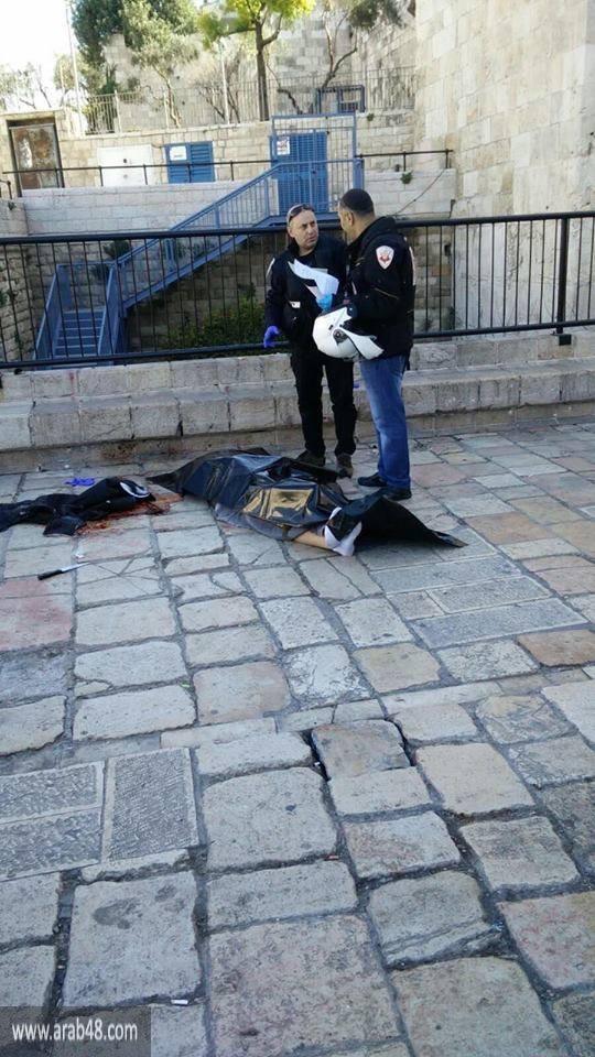 القدس المحتلة: استشهاد فلسطيني بعد عملية طعن في باب العمود