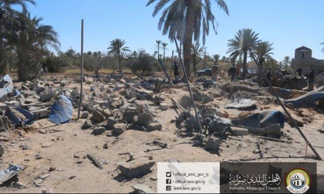 ليبيا: أكثر من 40 قتيلاً بغارة أميركية قرب العاصمة