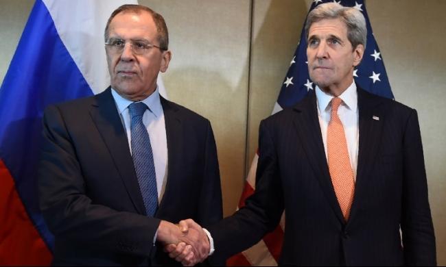 كيري ولافروف يبحثان سبل التنسيق العسكري في سورية