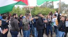 حيفا: تظاهرة طلابية نصرة للأسير القيق