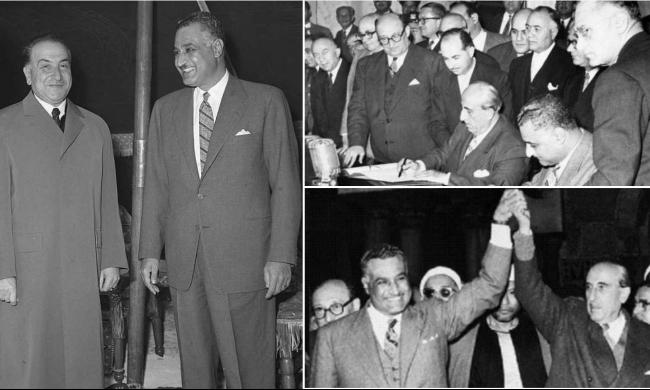 """58 عاما على """"الجمهورية العربية المتحدة"""""""