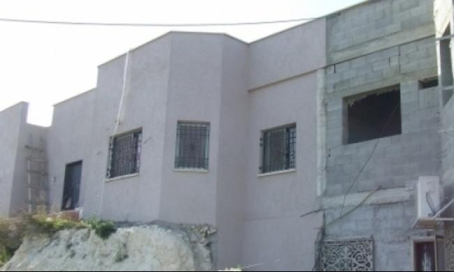 أم الفحم: تجميد أمر هدم منزل عبد الغني