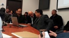 غطاس يشارك في اجتماع اللجنة اللوائية بشأن أراضي الطنطور