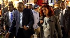 منظمة التحرير تستنكر زيارة الرئيس الكيني لمستوطنات بالضفة الغربية