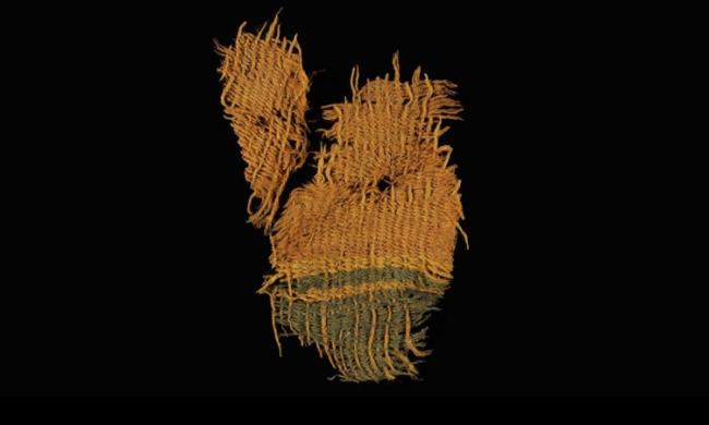 العثور على أقمشة تعود إلى فلسطين القديمة