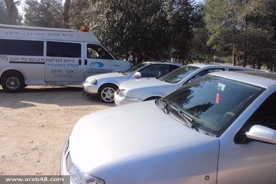 سخنين: مصادرة دبابات وسيارات مطوّرة