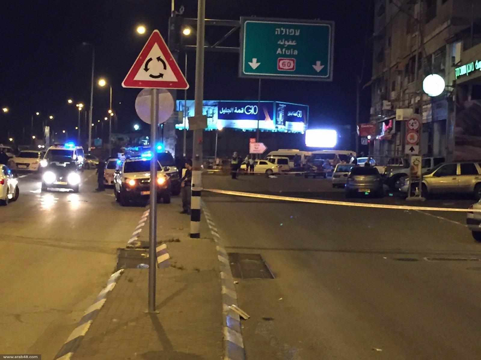 الناصرة: إصابة شرطي بجروح بالغة إثر دهسه