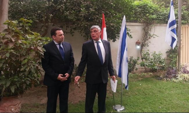 السفير الإسرائيلي بالقاهرة: لإسرائيل ومصر مصلحة مشتركة بمحاربة حماس