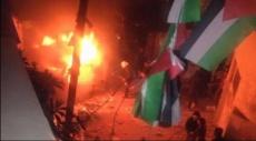 مخيم قلنديا: إحراق مركبة عسكرية للاحتلال واشتباك مسلح
