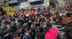 الآلاف يشيعون الشهيد سجدية بقلنديا