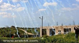 الضفة الغربية: مواجهات وإصابة طفل بالرصاص الحي