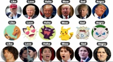 """بوكيمون وسياسيون يستبدلون """"انفعالات فيسبوك"""""""