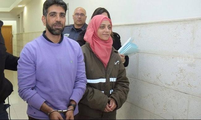 سجن مدحت وشيرين العيساوي بتهمة نقل رسائل لأسرى حماس