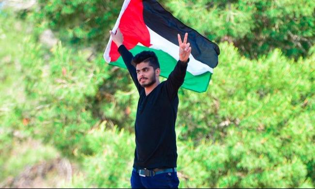 عمل فني جديد للفنان طارق خلوف تخليدا لشهداء فلسطين