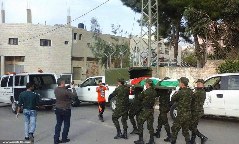 سلفيت: تشيع جثمان الشهيد أحمد عامر
